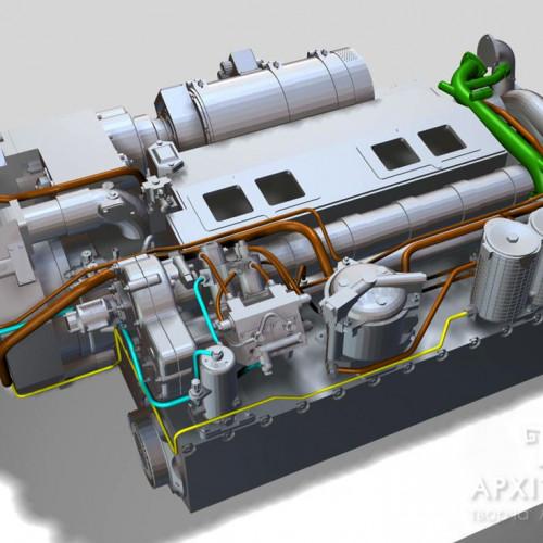 3Д Візуалізація макета для узгодження з замовником