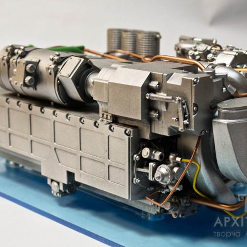 3D печать макета двигателя 6ТД