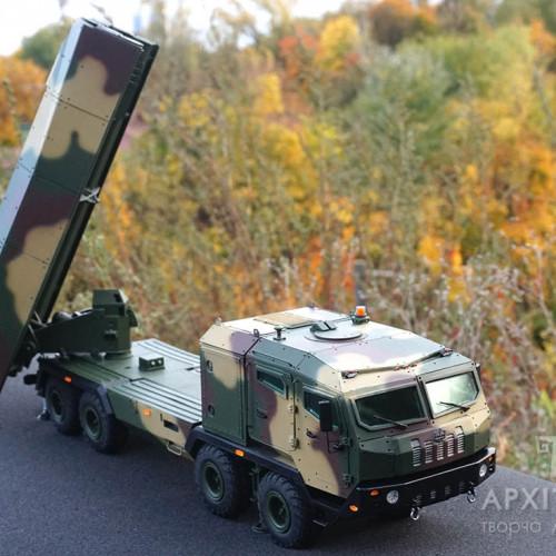 "еxhibition model of the launcher system ""Vil'kha"""