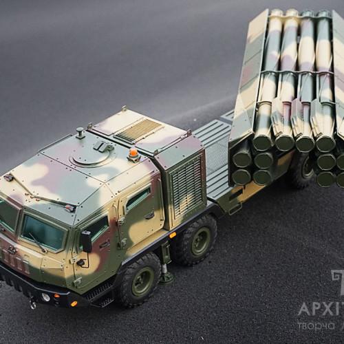 Изготовление макета пусковой установки Ольха, на заказ, Киев