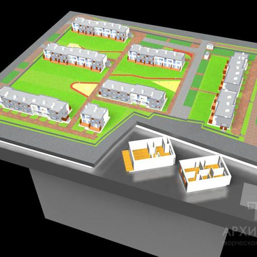 виготовлення моделі для 3Д друку архітектурного макета