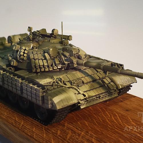 Масштабна модель танка Т-55, професійний 3D друк