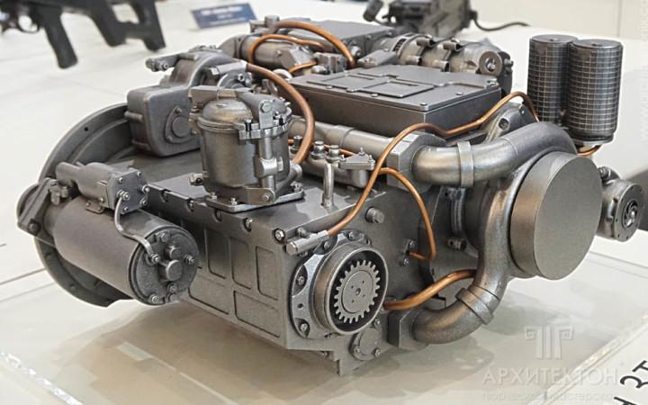 3D друк моделі двигуна