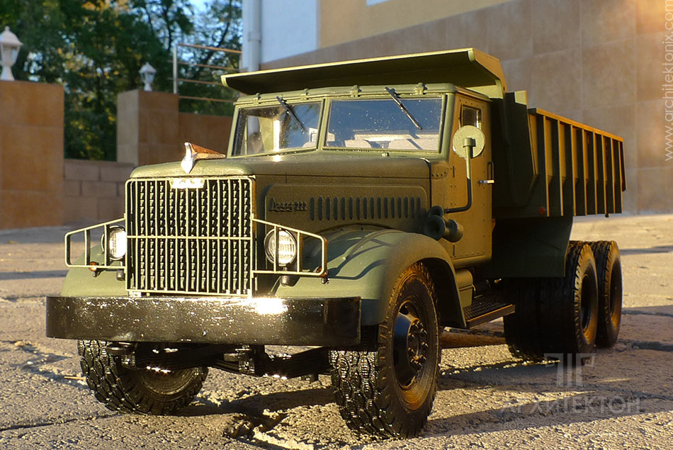 Модель вантажівки, 3D друк на замовлення
