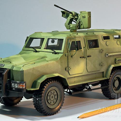 3D друк моделі броньованого автомобіля КОЗАК-ІІ на замовлення