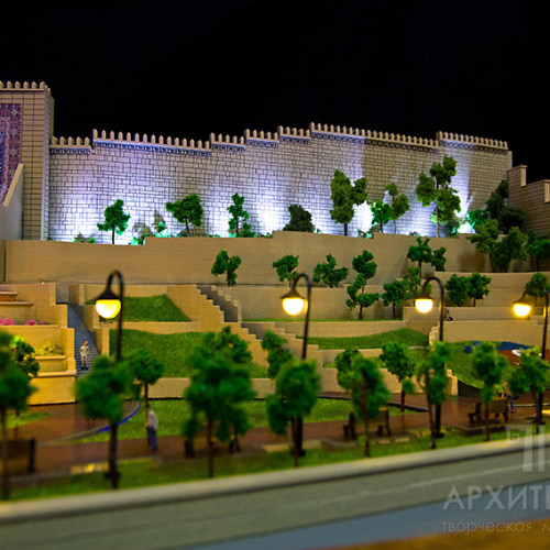 Architectural model of Park