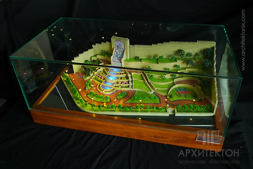 Made To Order Architectural model of Park