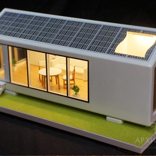 3D друк архітектурного макета будинку, масштаб 1/30