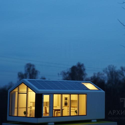 виготовлення архітектурного макета будинку, масштаб 1/30. Виконано на замовлення