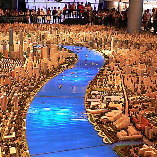 Макет Гонконга в городском музее