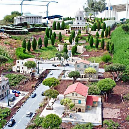 Парк миниатюр «Мини-израиль» Латрун. Израиль