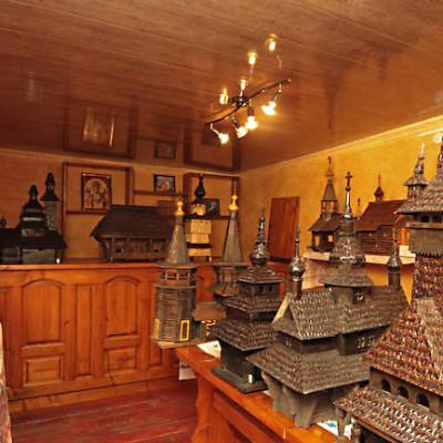 Музей архитектурных макетов деревянных церквей