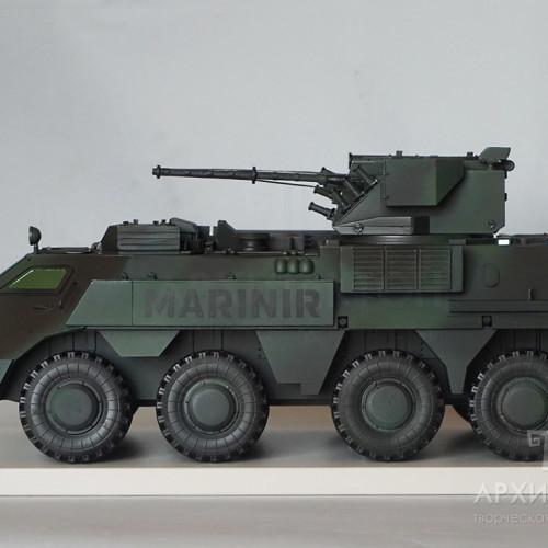 3D друк масштабної моделі БТР-4 на замовлення
