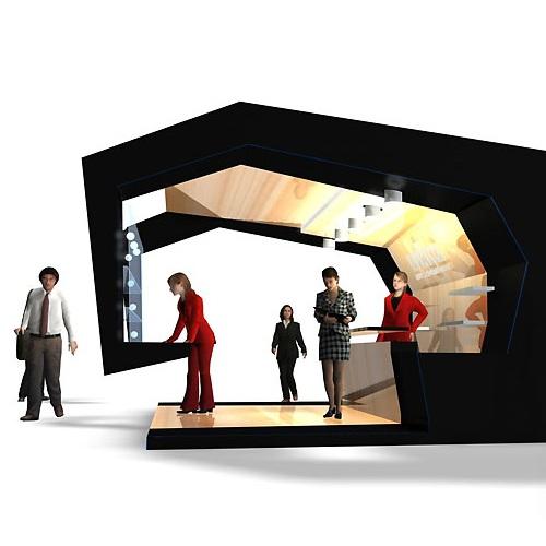 Замовити дизайн виставкового стенду