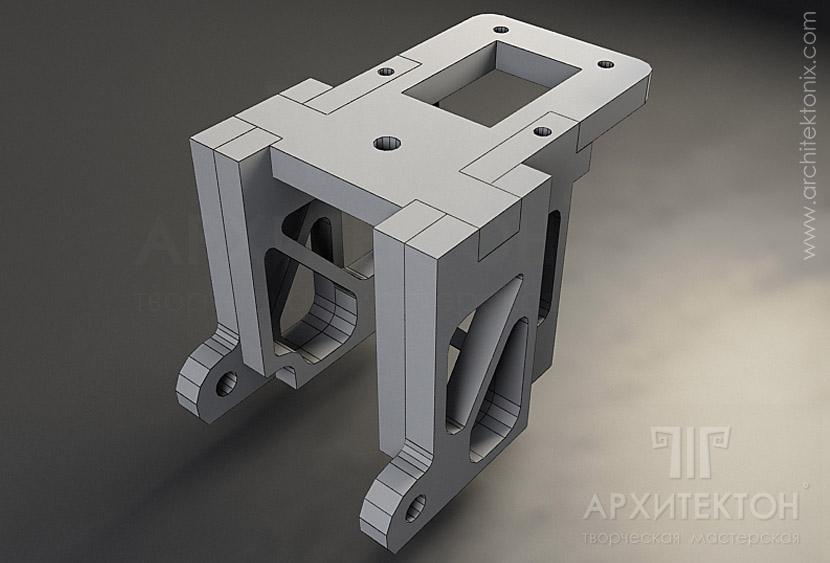 3D visualization of part design