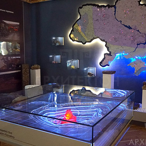 проектирование музея НАН Украины