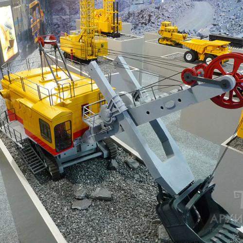 Custom made model of EKG-5 excavator