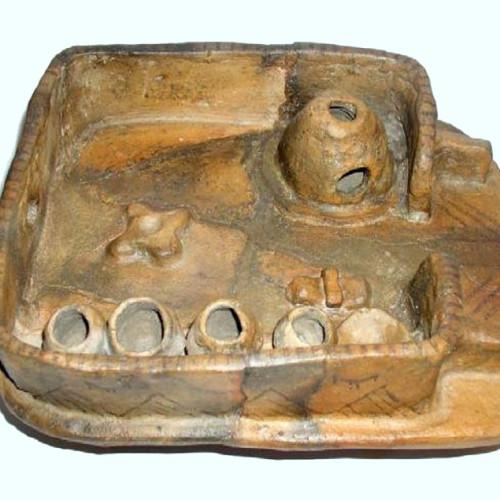 Макет будинку, трипільська культура, третє тисячоліття до н. е