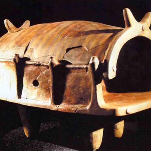 Модель храму, обпалена глина. Шосте - третє тисячоліття до н.е.