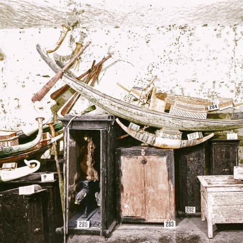 Асортимент культових моделей і макетів в гробниці Тутанхамона