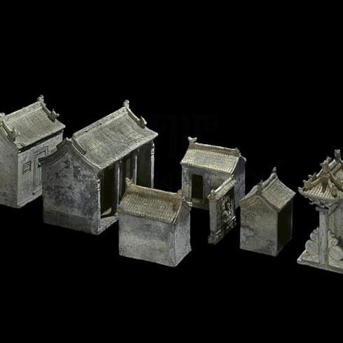 Стародавній Китай макет садиби 1450-1600 року н.е