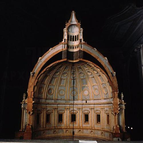 Макет купола собору святого Петра в Римі, 1558-1561года.