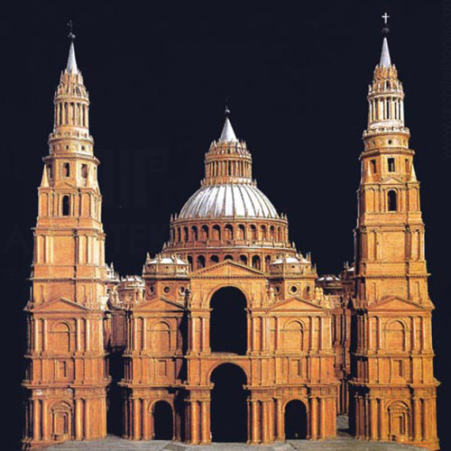Макет собору Святого Петра в Римі Антоніо де Сангалло