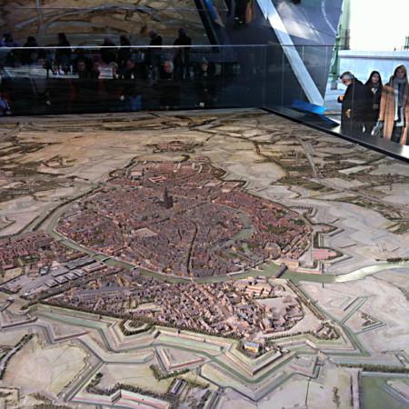 Французький фортифікаційний макет 1667 рік
