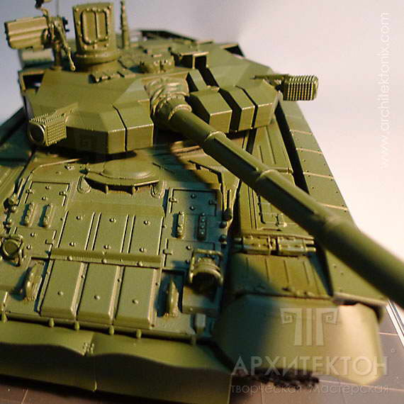 3D printing to Order scale models: tanks, radars, cars, trains, helicopters