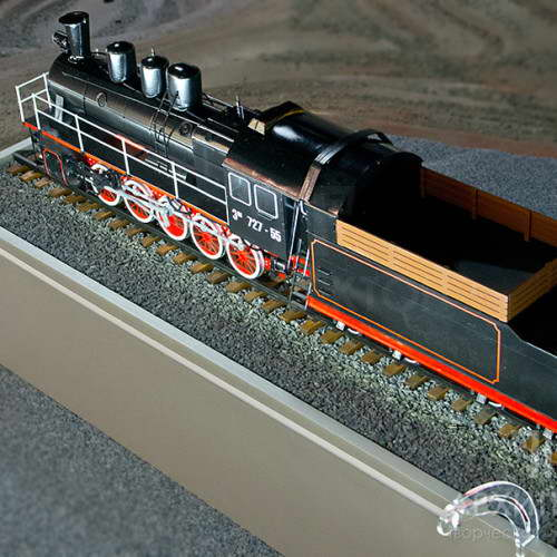 3D print railway models of cars, diesel locomotives, trains