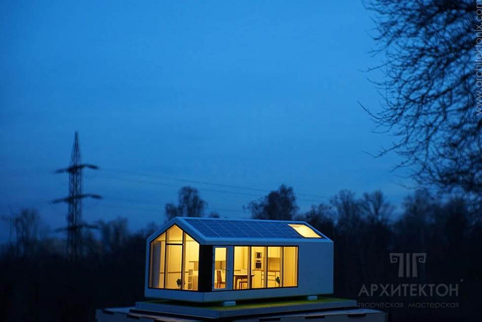 custom made Architectural Model of house, kiev