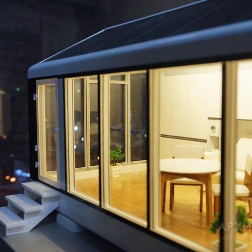Изготовление архитектурного макета дома