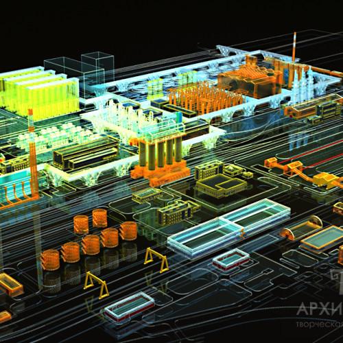 Створення 3Д моделі для виготовлення архітектурного макета