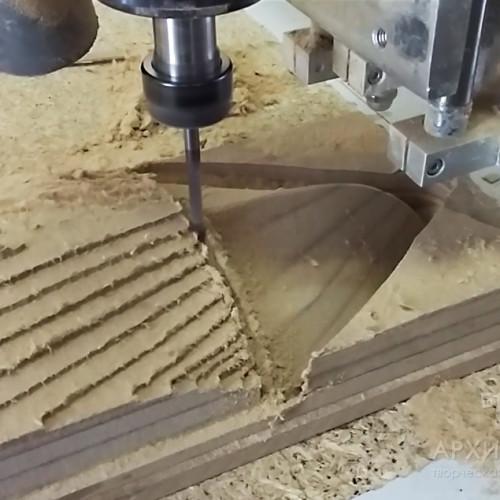 2D і 3D фрезерування плоских і об'ємних деталей макета