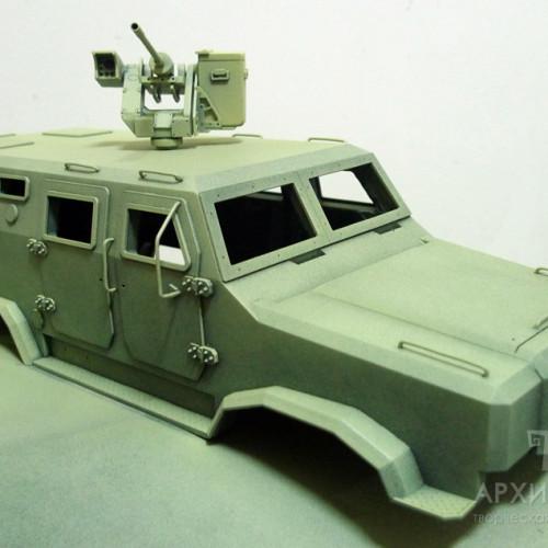 Грунтовка, і фарбування деталей 3D моделі
