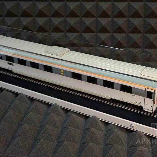 акриловый купол для масштабной модели вагона