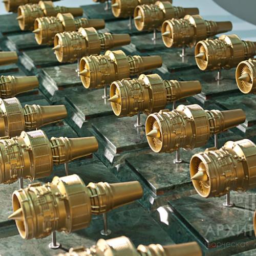 Корпоративні сувеніри моделей двигуна під замовлення
