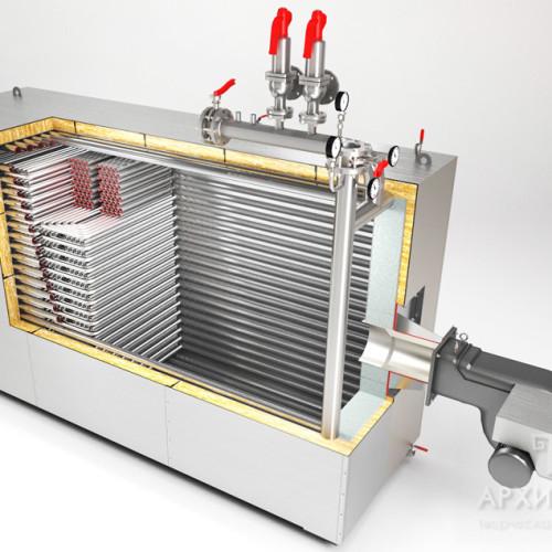Замовити візуалізацію опалювальних систем і пристроїв візуалізація котельні