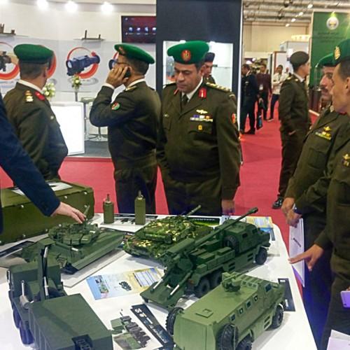 Масштабные модели военной техники для выставок