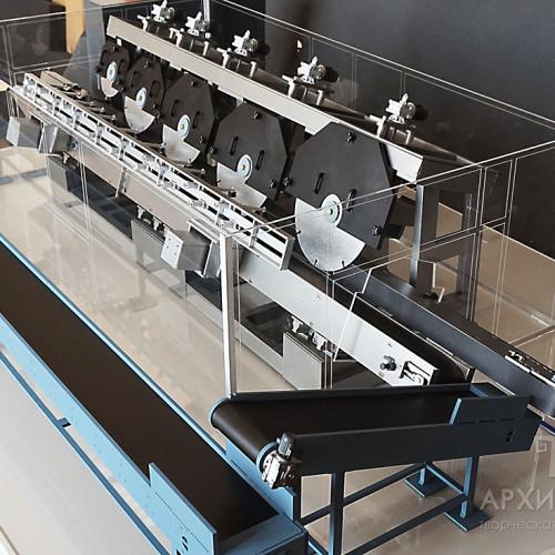 Виготовлення моделі верстата в масштабі 1/30, для виставки
