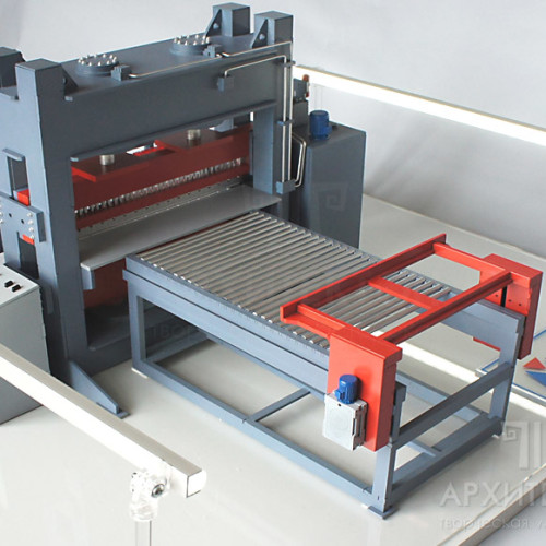 3D друк макета верстата для презентації