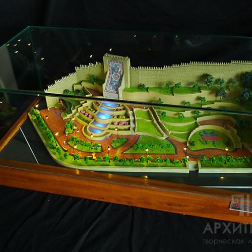 3D друк ландшафтного макета