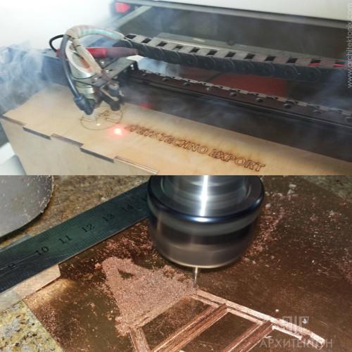 Изготовление макетов: 3Д печать, фрезеровка, лазерная резка