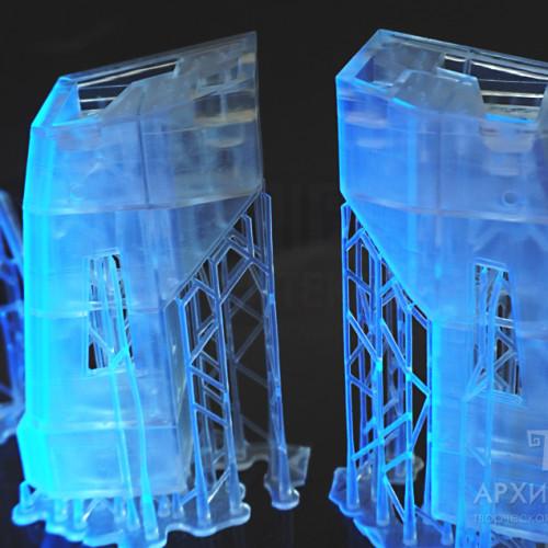 гладкая 3D печать макетов и моделей под заказ
