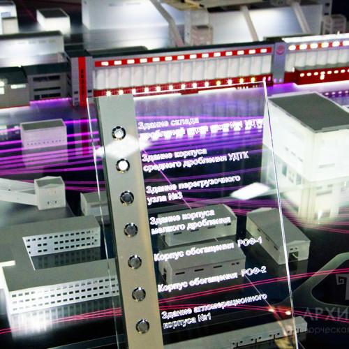 Изготовление интерактивных макетов, проектирование и установка электроники и механики в модели