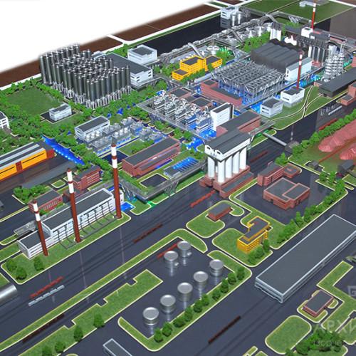 3D друк макет заводу, Київ