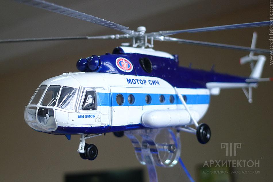 Подарункова модель вертольота