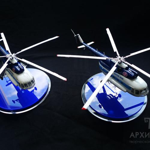 Модель вертольота Мі-8МСБ