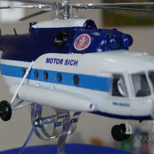 Масштабна модель вертольота МСБ-2, масштаб 1:20