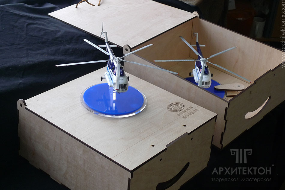 Корпоративні подарунки - моделі вертольотів